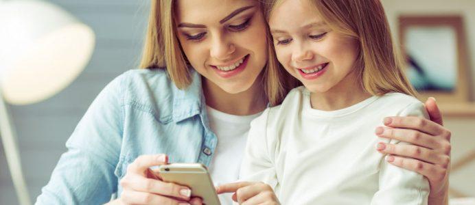 Kindersicherung für Handy & App