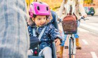 Kinderfahrradsitz für vorne und hinten